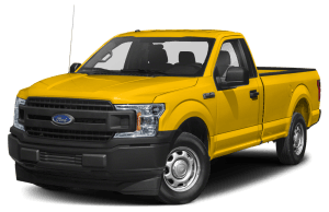 2020 ford f-150 xl in yellow